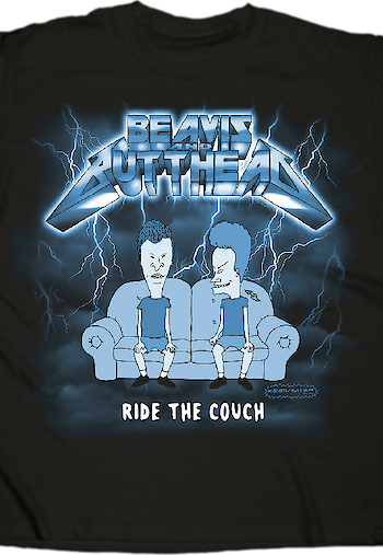 Ride The Couch Beavis and Butt-Head T-Shirt