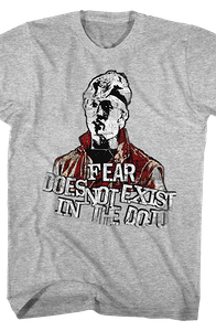 Fear Does Not Exist In The Dojo Karate Kid T-Shirt