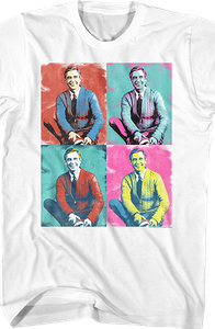 Pop Art Mr. Rogers T-Shirt