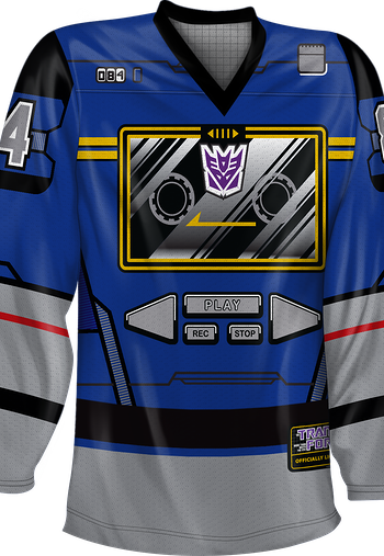 Soundwave Decepticons Hockey Jersey