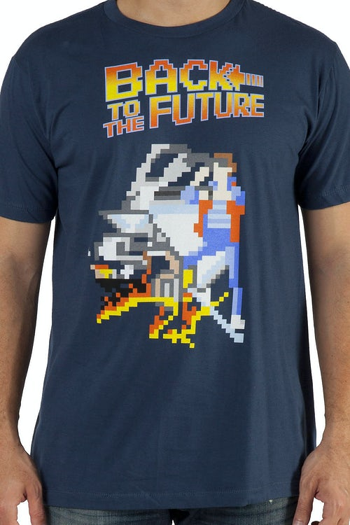 8-Bit Back To The Future Shirt