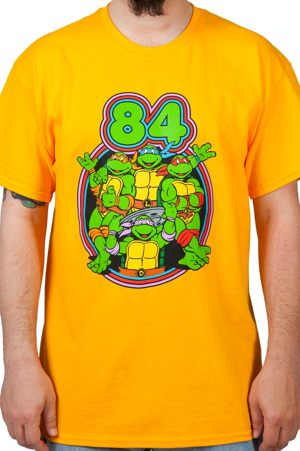 84 Teenage Mutant Ninja Turtles Shirt
