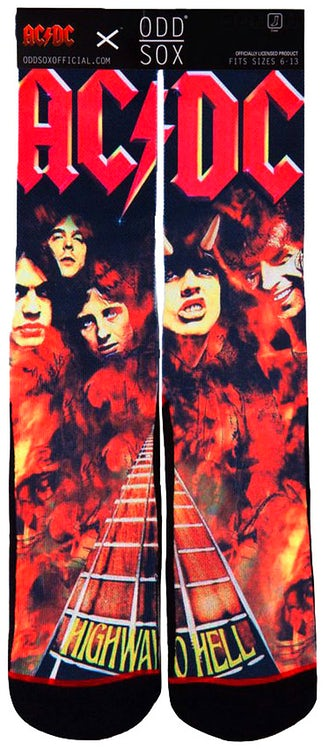 ACDC Highway To Hell Socks