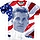 All American Iceman Sublimation Top Gun Shirt