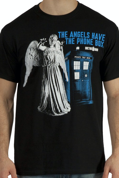 Angels Have Phone Box Shirt