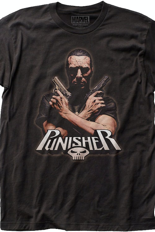 Arms Crossed Punisher T-Shirt