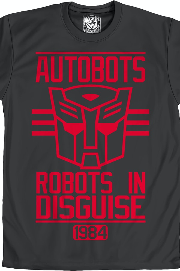 Autobots Robots In Disguise T-Shirt
