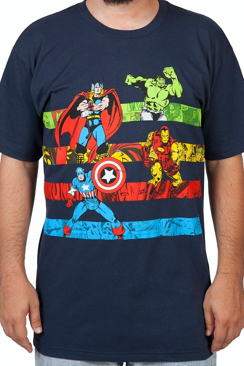 Avengers Stripes Shirt