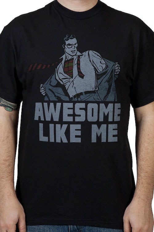Awesome Like Me Superman Shirt