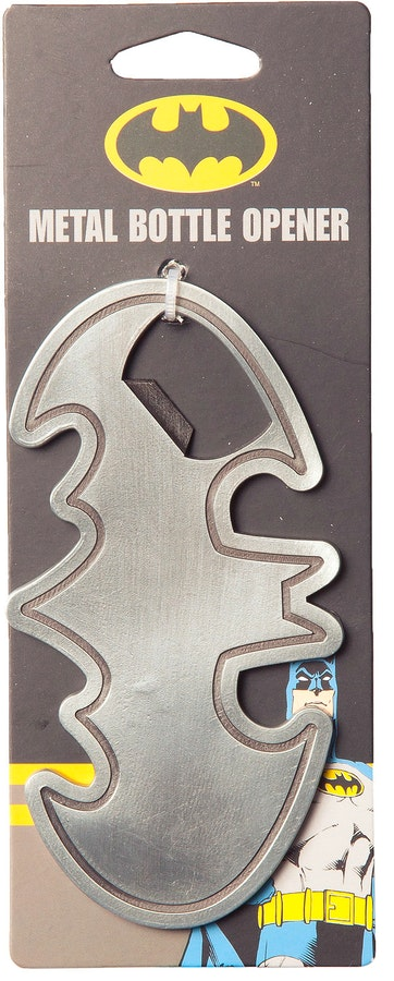 Batman Bat Symbol Metal Bottle Opener