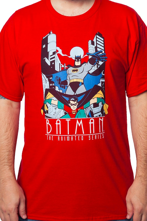 Batman The Animated Series Dynamic Duo T-Shirt
