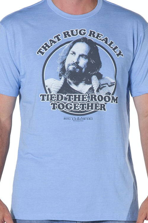 Big Lebowski Rug Tied The Room Together Shirt