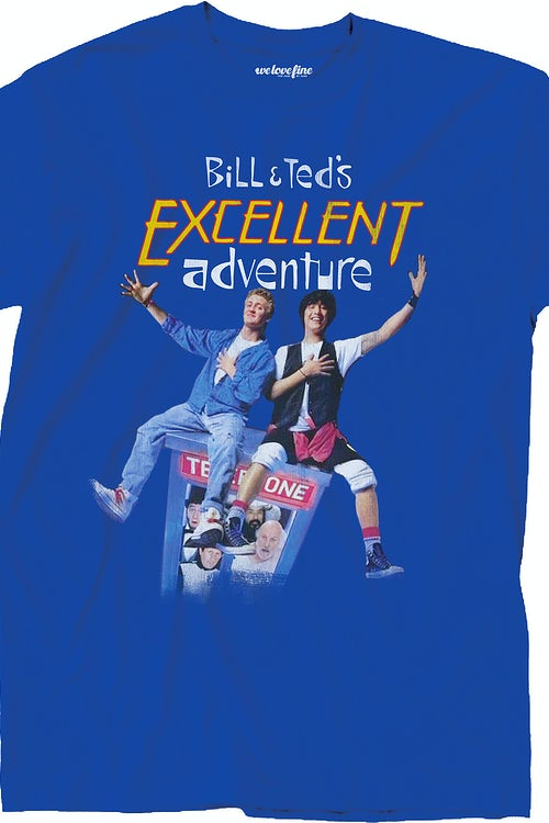 Bill and Ted Poster Artwork T-Shirt