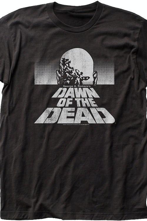 ec5fb04221a7 Black and White T-Shirt  Dawn of the Dead Mens T-Shirt
