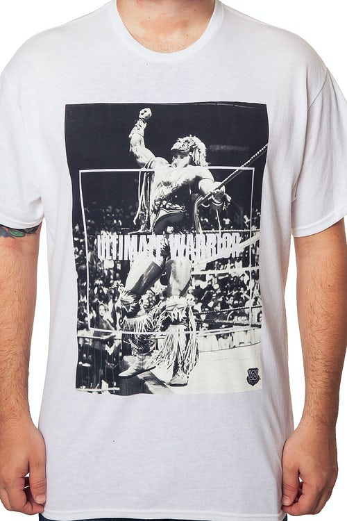 Black and White Ultimate Warrior T-Shirt