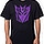 Black Decepticon Logo T-Shirt