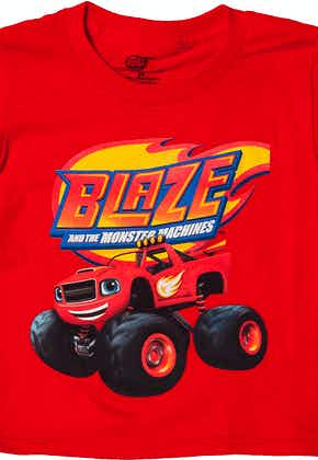 Blaze and The Monster Machines Shirt