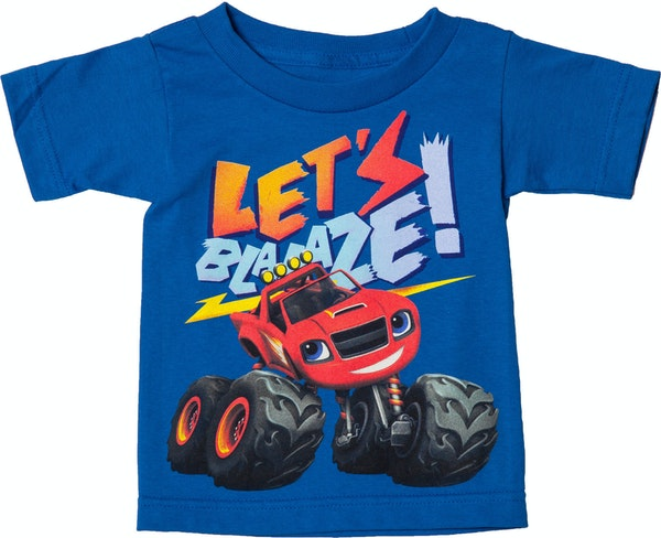 Let's Blaze And The Monster Machines T-Shirt From Hit Nick ...