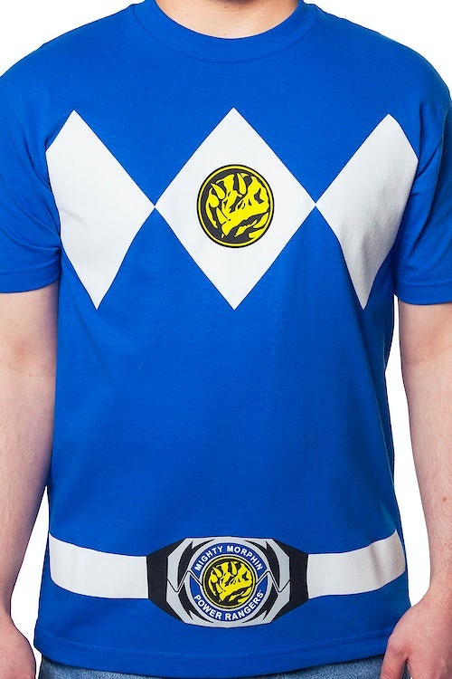 Blue Ranger Costume T-Shirt