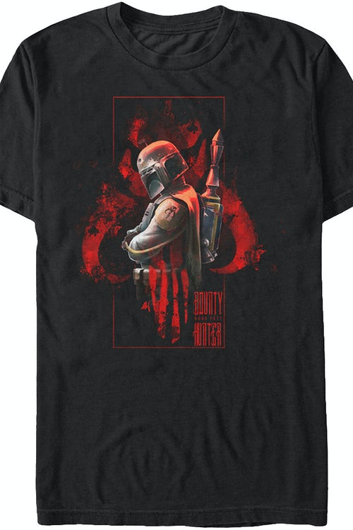 Boba Fett and Logo Star Wars T-Shirt