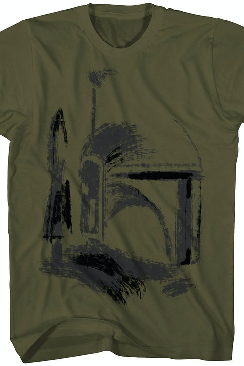 Boba Fett Composite Sketch T-Shirt