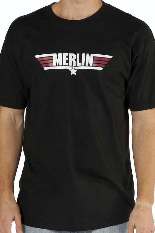 Call Name Merlin Top Gun T-Shirt