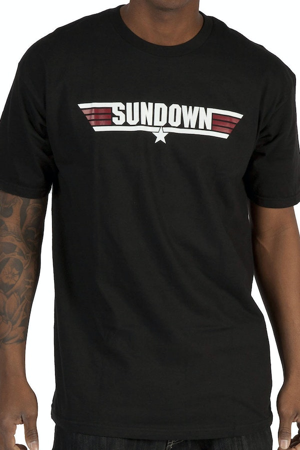 Call Name Sundown Top Gun T-Shirt