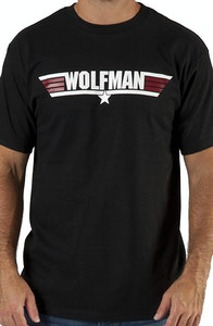 Call Name Wolfman Top Gun T-Shirt