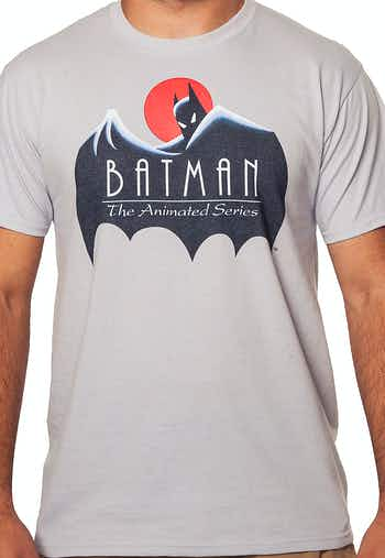 Cape Batman Animated Series T-Shirt