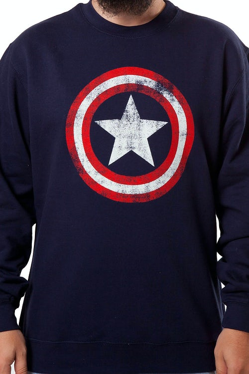 Captain America Shield Sweatshirt