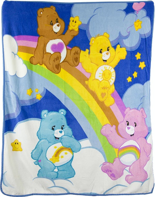 Care Bears Microfiber Blanket