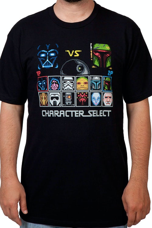 Character Select Star Wars Shirt