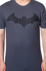 Charcoal Batman Hush Logo Shirt