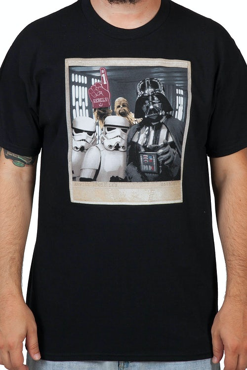 Chewbacca Photo Bomb T-Shirt