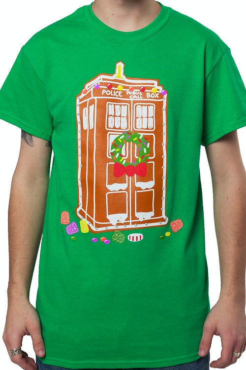 Christmas Tardis T-Shirt