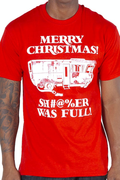 Christmas Vacation Shitter Was Full Shirt