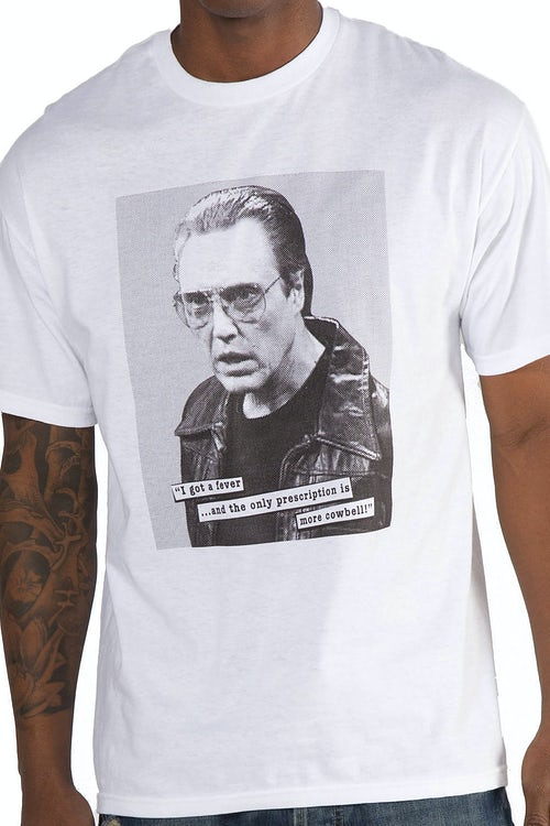 Christopher Walken More Cowbell Shirt