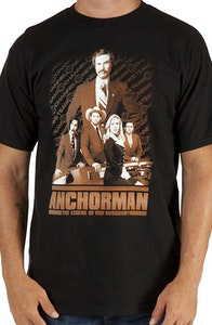 Collage Anchorman Shirt