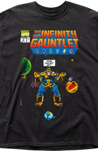 Cosmic Battle Infinity Gauntlet Thanos T-Shirt