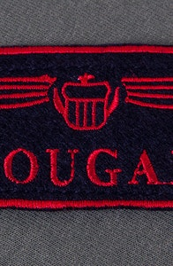 Cougar Call Name Patch