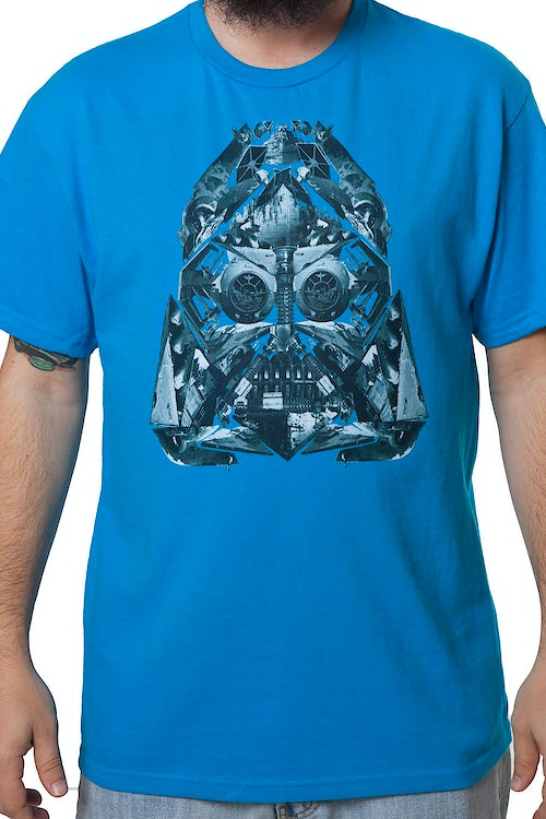 Darth Vader Assembled Shirt