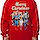 DC Comics Wonder Woman Faux Ugly Christmas Sweater