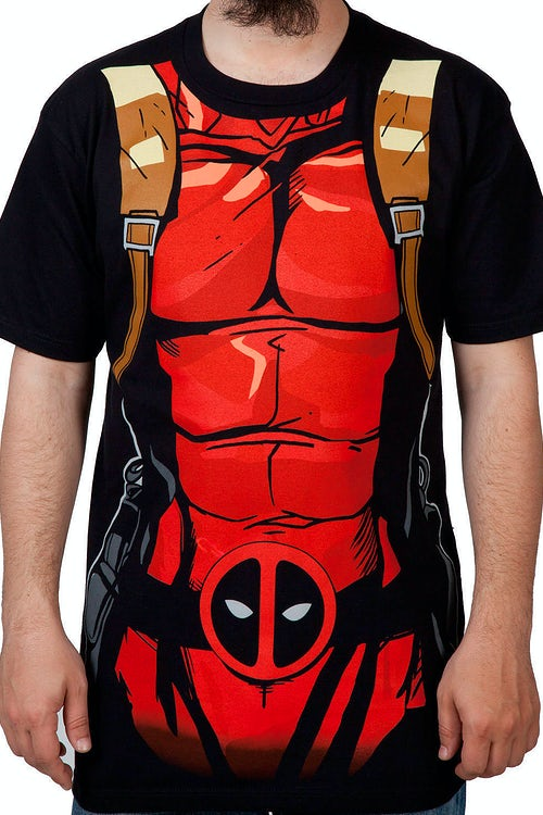 Deadpool Costume Shirt