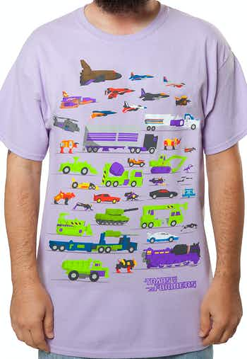Decepticons Vehicles Shirt