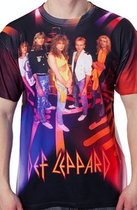 Def Leppard Group Sublimation Shirt