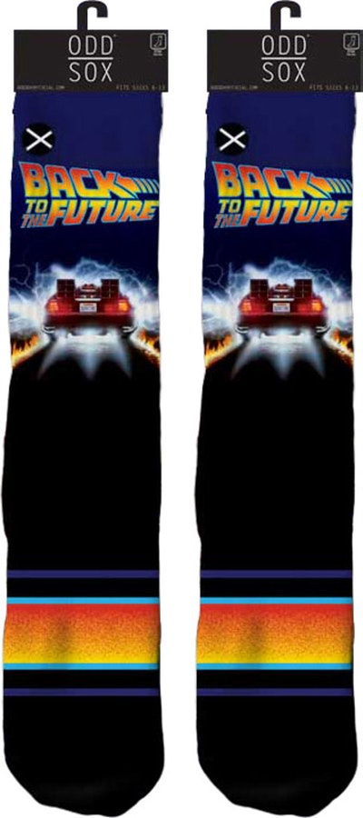 DeLorean Back To The Future Socks