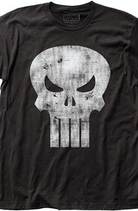 Distressed Logo Punisher T-Shirt