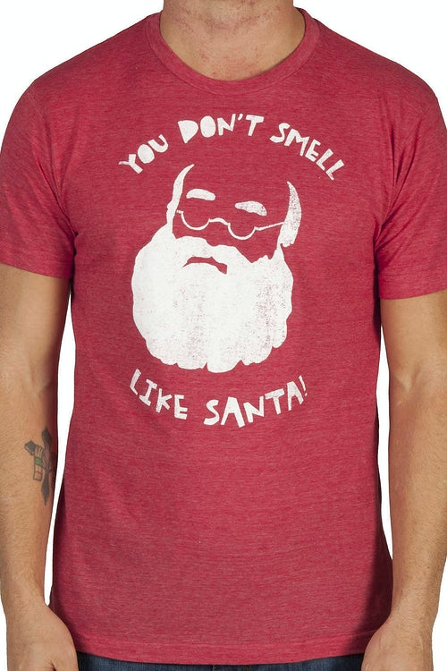 Dont Smell Like Santa Shirt