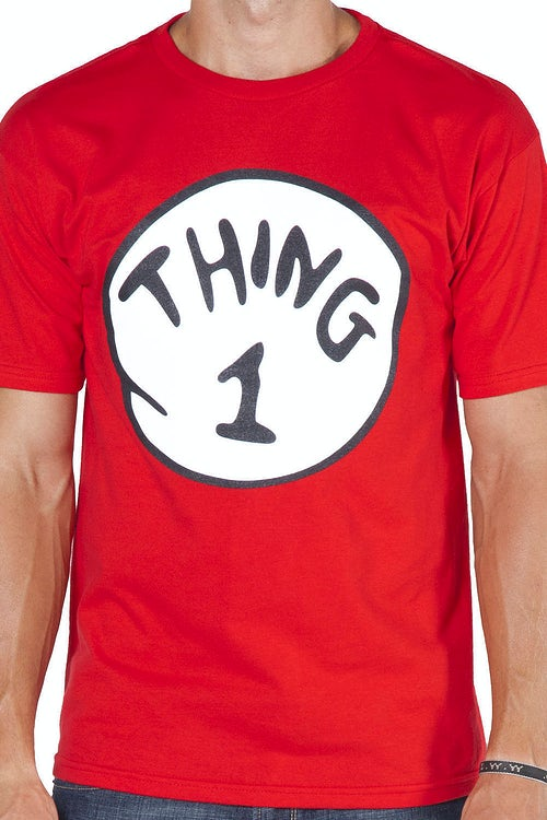 Dr Seuss Thing 1 T-Shirt
