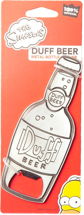 Duff Beer Metal Bottle Opener